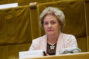K. Brazauskienė valstybinės pensijos negaus
