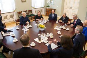 Prezidentė tikisi, kad valdančiųjų reformas Seime palaikys ir opozicija