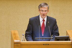 J. Sabatauskas: dabar apkalta Seimo nariui grės ir už avariją