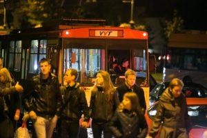 """Po """"Kultūros nakties"""" namo grįžti bus galima naktiniais autobusais"""