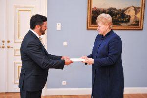 Lietuva siunčia naują ambasadorių į Baltarusiją