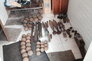 Už senų ginklų ir šaudmenų kolekcionavimą – į teismą