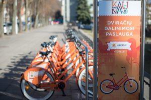 Nyderlandų verslininkus Kaune nustebino oranžiniai dviračiai