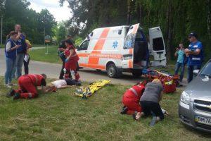Kauno rajono medikai sužibėjo Ukrainoje