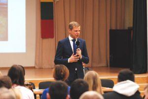 Sostinės meras susitiko su Grigiškių bendruomene