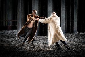 Duetas suvienijo jėgas herojiškam šokio spektakliui