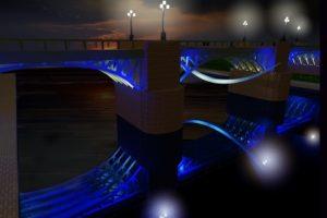 Moderniai apšviesti tiltai – Vilniaus užmojis
