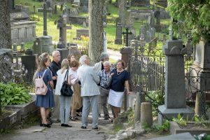 Rasų kapinių atnaujinimo darbus teigiamai įvertino ir lenkų paveldosaugininkai