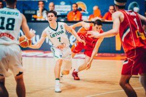 Atkakliame pusfinalyje Lietuvos 18-mečiai nusileido serbams