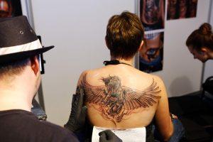 Uostamiestyje – tatuiruočių meistrų suvažiavimas