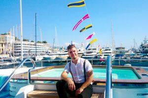 Klaipėdietis kuria svajonių jachtas