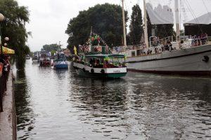 Danės upėje sulaikytas girtas kapitonas