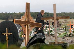 Pasibaisėtina: kapinėse pritrūko žemės