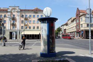 Miestas liko be laikrodžių