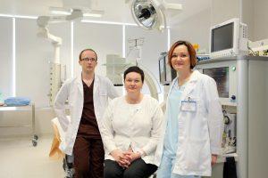 Gydytojas anesteziologas – viena svarbiausių operacinės komandos grandžių