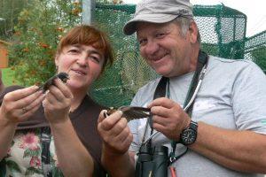 Ornitologas, sužiedavęs per 700 tūkst. paukščių