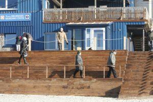 Antrosios Melnragės gelbėjimo stotyje – remontas