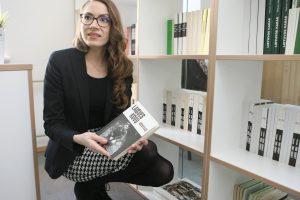 Patriotinių leidinių knygynėlyje partizanais domisi ir užsienio turistai