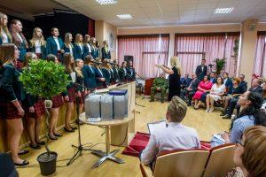 Pirmoji Kauno rajono gimnazija švenčia jubiliejų ir ruošiasi iššūkiams