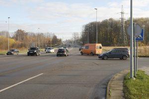 Transporto srautus reguliuos išmaniai