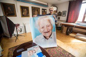 Fotografė M. Požerskytė: laimingi šimtamečiai nebijo mirti