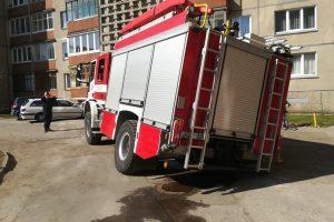 Uostamiesčio ugniagesiams – spąstai asfalte