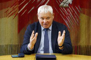 """""""Vytautą Grubliauską ir komandą"""" į savivaldos rinkimus ves dabartinis meras"""
