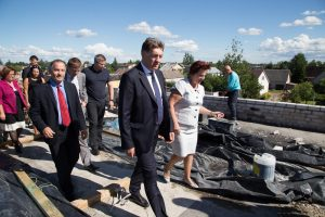 Vyriausybė nuo gaisro nukentėjusiai Piniavos mokyklai skirs 300 tūkst. eurų