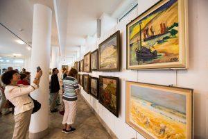 Th. Manno festivalyje atidarytos dailės kūrinių parodos