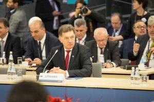 A. Butkevičius: Kinija yra Lietuvos strateginė partnerė Azijoje