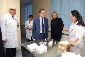 Sveikatos apsaugos ministras gyrė Klaipėdos jūrininkų ligoninę