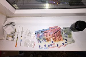 64 metų vyras Kaune platino heroiną