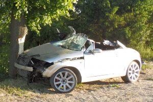 Savaitgalį girti vairuotojai sukėlė tris avarijas