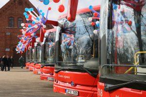 Į Kauno rajono kelius išriedės nauji autobusai