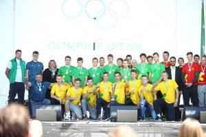 Apdovanoti sportiškiausi Lietuvos moksleiviai