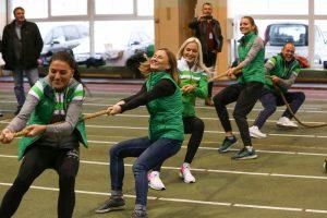 Moksleiviai metė iššūkį olimpiečiams