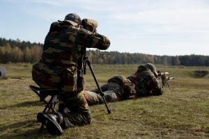Snaiperių varžybose triumfavo lietuviai