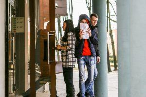 Klaipėdoje jaunas plėšikas išžagino studentę