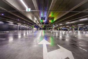 """""""Megos"""" statybos eina į pabaigą – atidaryta daugiaaukštė parkavimo aikštelė"""