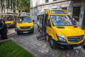 Kauno maršrutiniai taksi rieda į naują erą