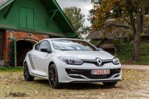 "Niurburgringo rekordininkas ""Renault Megane R.S. 275 Trophy"" – jau Lietuvoje"