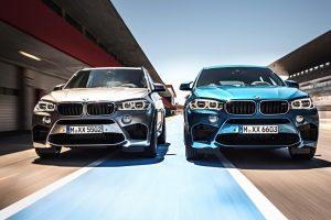 Galingiausi visais varančiais ratais BMW – X5 M ir X6 M
