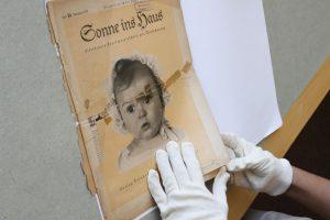 Arijų pavyzdžiu nacių laikais laikytas kūdikis pasirodė buvęs žydas