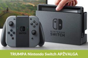 """Žaidimai naująja """"Nintendo Switch"""": kodėl verta išbandyti?"""
