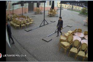 Policija ieško kėdžių vagių