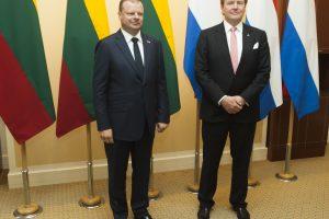 Premjeras: Nyderlandų indėlis į NATO stiprina mūsų regiono saugumą