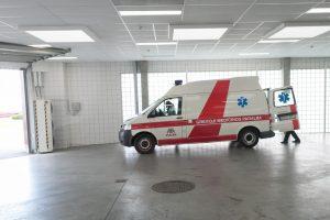 Neliks trijų greitosios medicinos pagalbos stočių