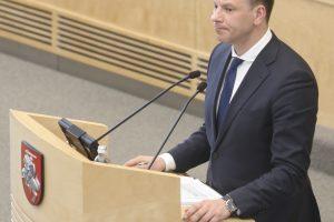 V. Šapoka: kviečiu kartu statyti mokesčių sistemos namą