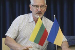 Visuomenininkas A. Vinokuras mokys cirko Rytų Ukrainos vaikus