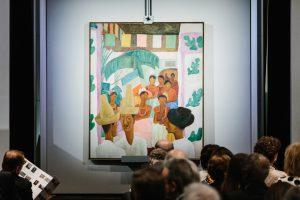 Aukcione Meksikos dailininko D. Riveros paveikslas parduotas už 10 mln. dolerių